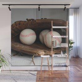 Baseball Glove Wall Mural