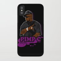 chad wys iPhone & iPod Cases featuring Chad 'Pimp C' Butler by Chad Trutt