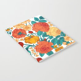 Vintage flower garden Notebook
