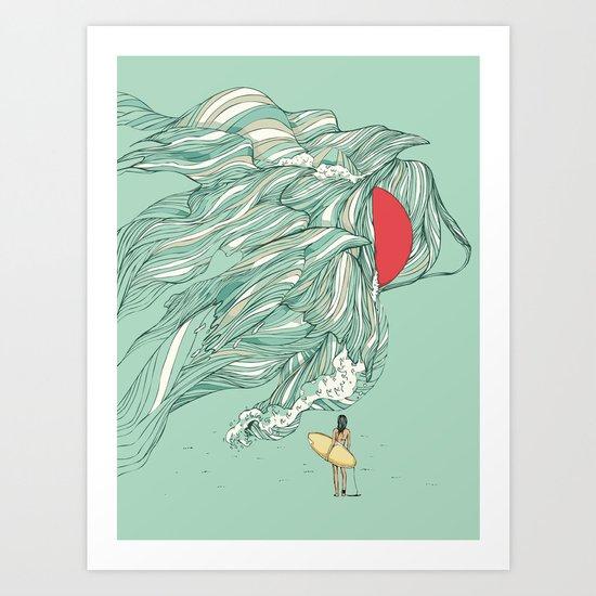 Ocean Summer Art Print