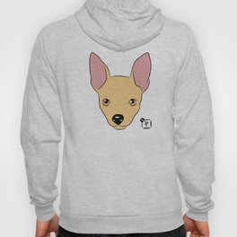Chihuahua Face Hoody