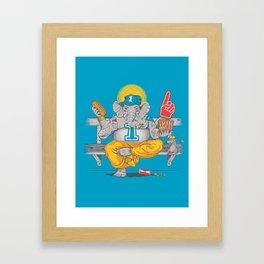 Any Given Sunday Framed Art Print