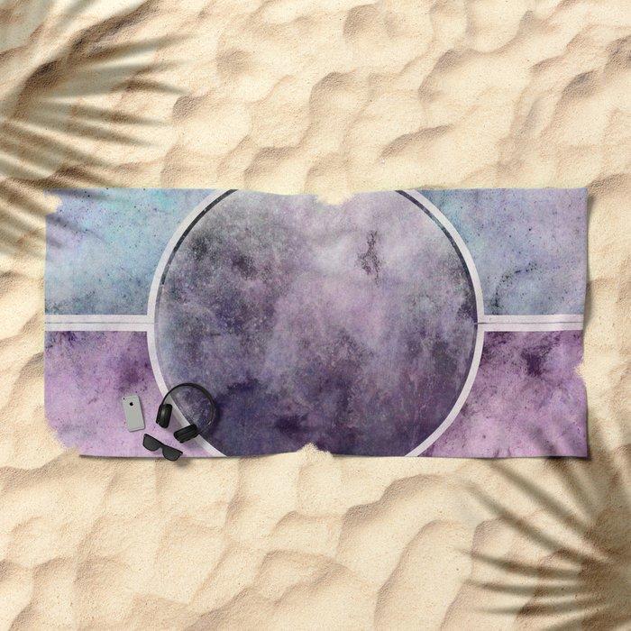 η Lyrae Beach Towel