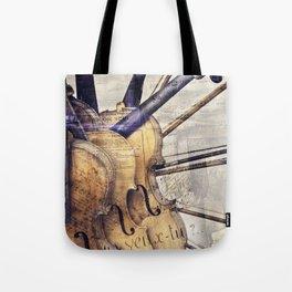 Classic Violins Tote Bag