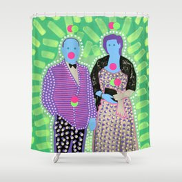 The Invisible Gala 001 Shower Curtain