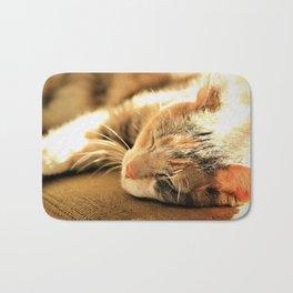 Sleepy Kitty Pretty Kitty Bath Mat