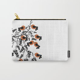 orange birds Carry-All Pouch