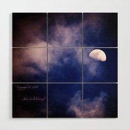 Mark's Moon #152 Wood Wall Art