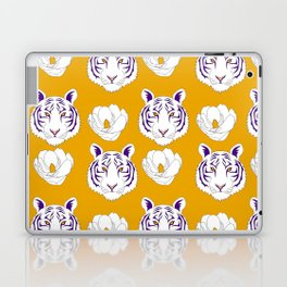 LSU yellow Laptop & iPad Skin