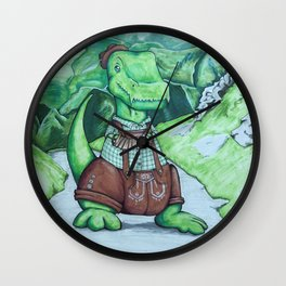 Tommyhosen Wall Clock