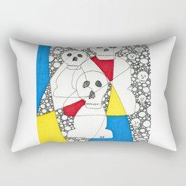 Skulls & Buddha No. 27 Rectangular Pillow