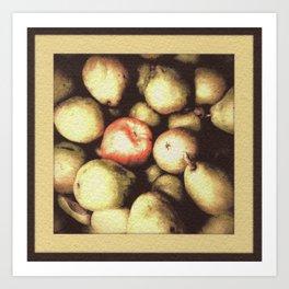 One Bad Apple... Art Print