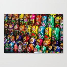 Matryoshka Gang Canvas Print
