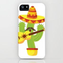 Tequila Fiesta Cinco De Mayo Funny iPhone Case