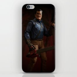 """""""I'm going to shove this right up some deadites ass! Hyah!"""" iPhone Skin"""