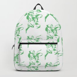 Follow the Herd - All Over Green #637 Backpack