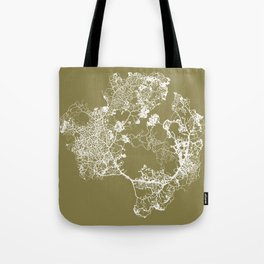 Physarum Polycephalum Tote Bag