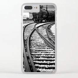 En Route Clear iPhone Case