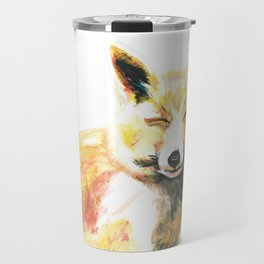 Happy Fox Travel Mug