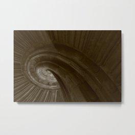 Sand stone spiral staircase 002 Metal Print