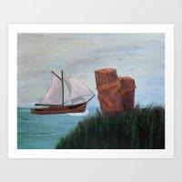 Joseph's Boat Art Print