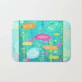 Big Fish Little Fish Bath Mat