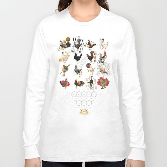 Defenseless Chickens Long Sleeve T-shirt