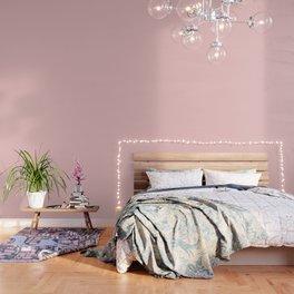 Millennial Pink Solid Matte Wallpaper