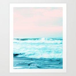 Sun. Sand. Sea. #society6 #decor #buyart Art Print
