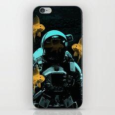 astronauts and goldfish iPhone & iPod Skin