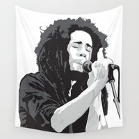 marley Wall Tapestries featuring Marley Music by Mark Lucas