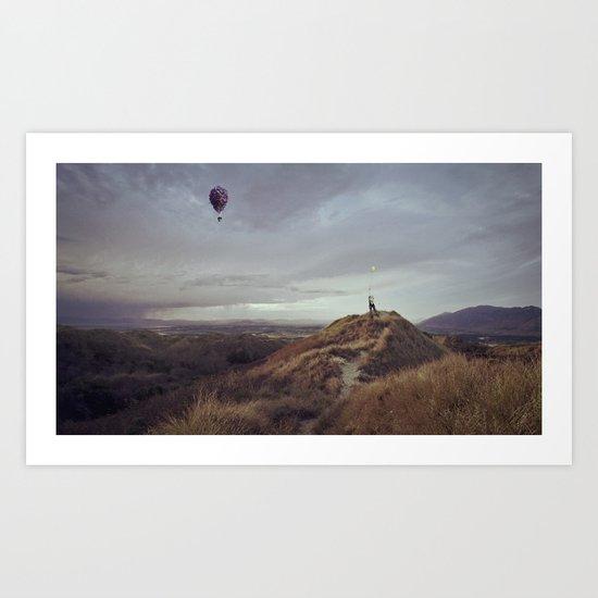 Waltz for Ellie {textless version} Art Print