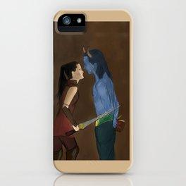 Loki x Sif iPhone Case