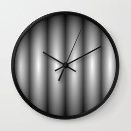 black contrast Wall Clock