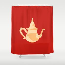 MADE IN MOROCCO #09-THE TEAPOT Shower Curtain