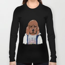 Daft Punk - Da Funk - Big City Nights Long Sleeve T-shirt
