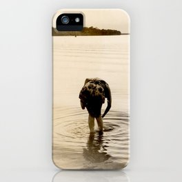 Dirty Fish Bait iPhone Case