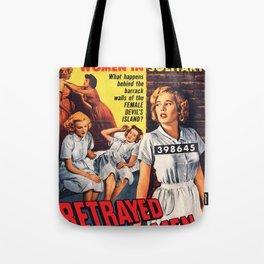 Betrayed Women Tote Bag