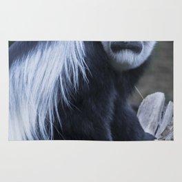 Animals: Colobus Rug