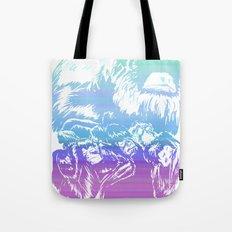 Monkeys in living Color Tote Bag