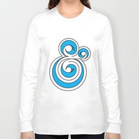 ampersand Long Sleeve T-shirts featuring Ampersand by Micah Lanier