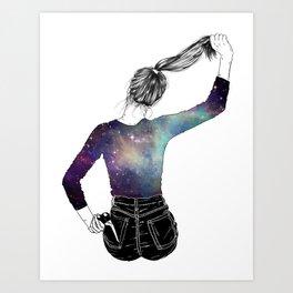 Corte pelo Art Print