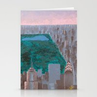 central park Stationery Cards featuring central park by cityclectic design