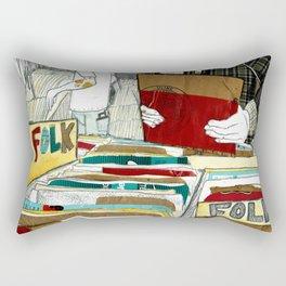 Vinyl Hunting Rectangular Pillow