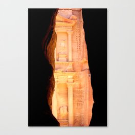 Treasury of Petra Canvas Print