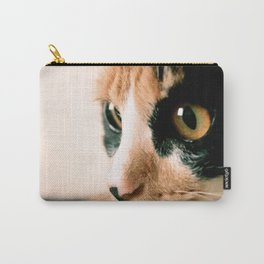 Thinking Cat Carry-All Pouch