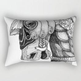 The Majestic Horse Rectangular Pillow
