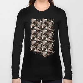 Opossum and Roses Langarmshirt