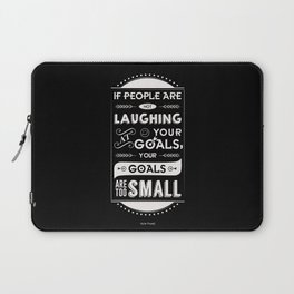 Lab No. 4 - Azim premji Indian Business Tycoon Inspirational Quotes Poster Laptop Sleeve