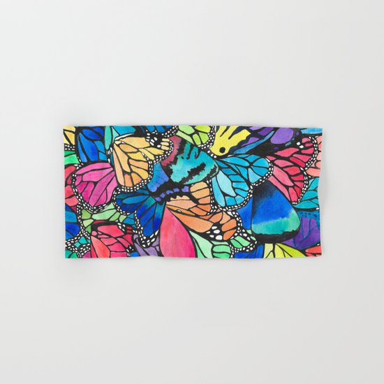 Butterfly Spark Hand & Bath Towel